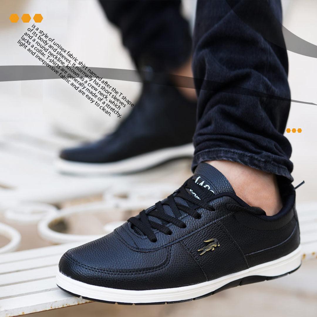 کفش مردانه Lacoste مدل picaso (مشکی)