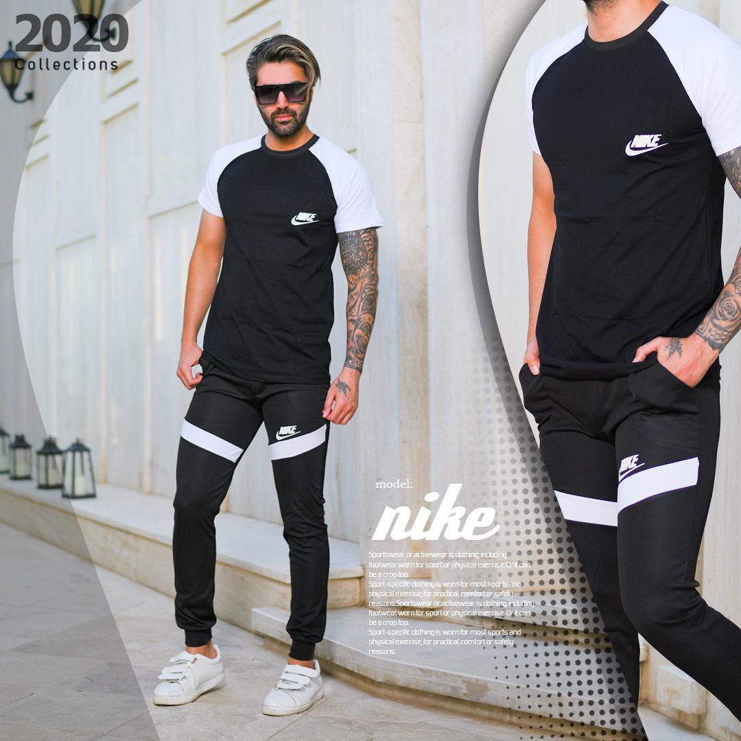 ست تیشرت وشلوار مردانه Nike مدل Veron
