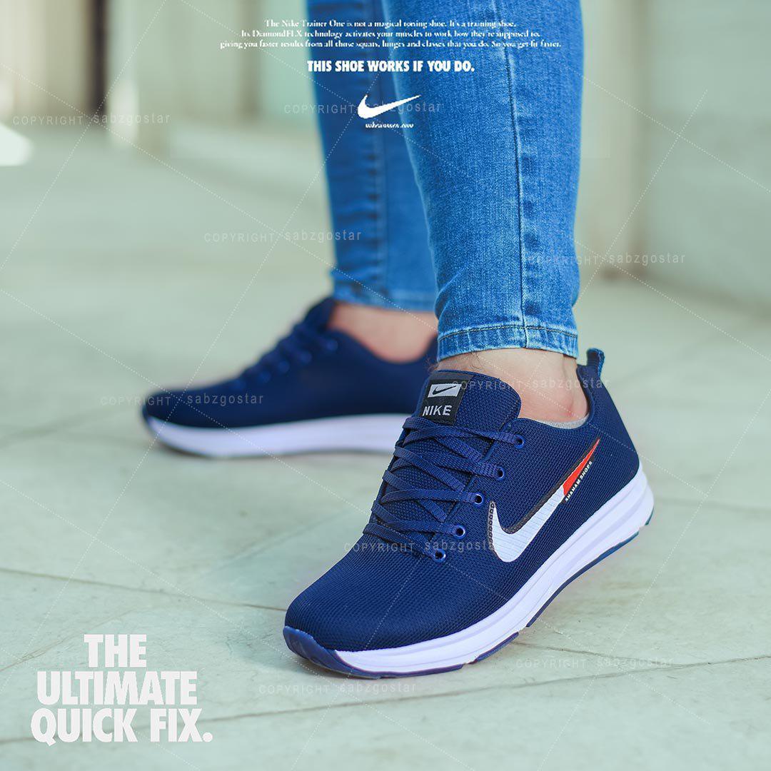 کفش مردانه Nike مدل Zoom.X (سرمه ای)