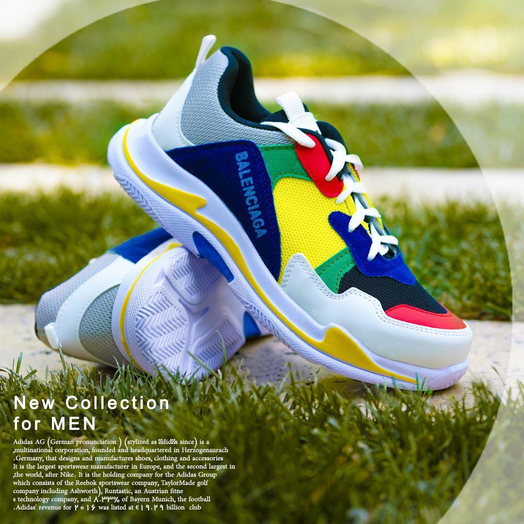 کفش مردانه مدل Balenciaga (رنگی)