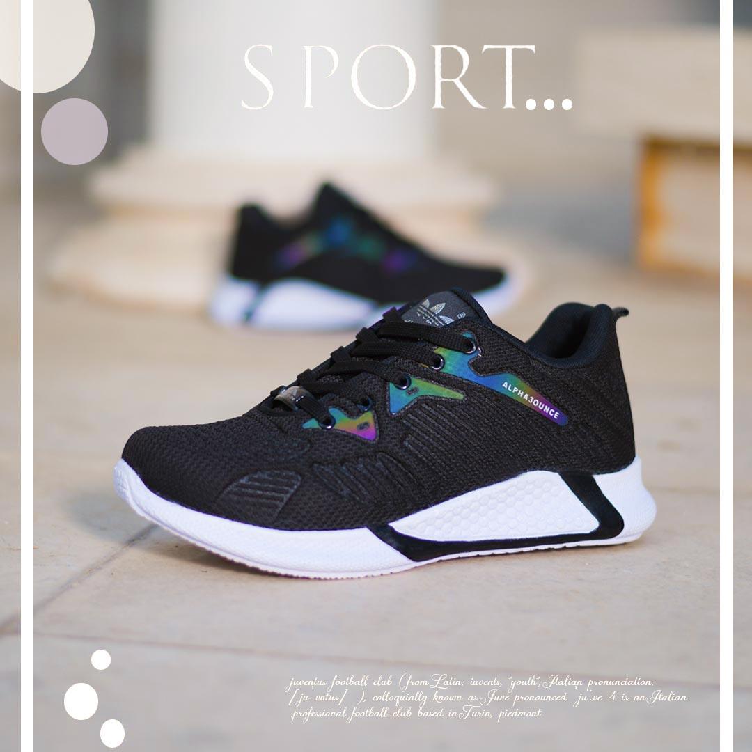 کفش مردانه Alpha 30 (نقره ای مشکی)