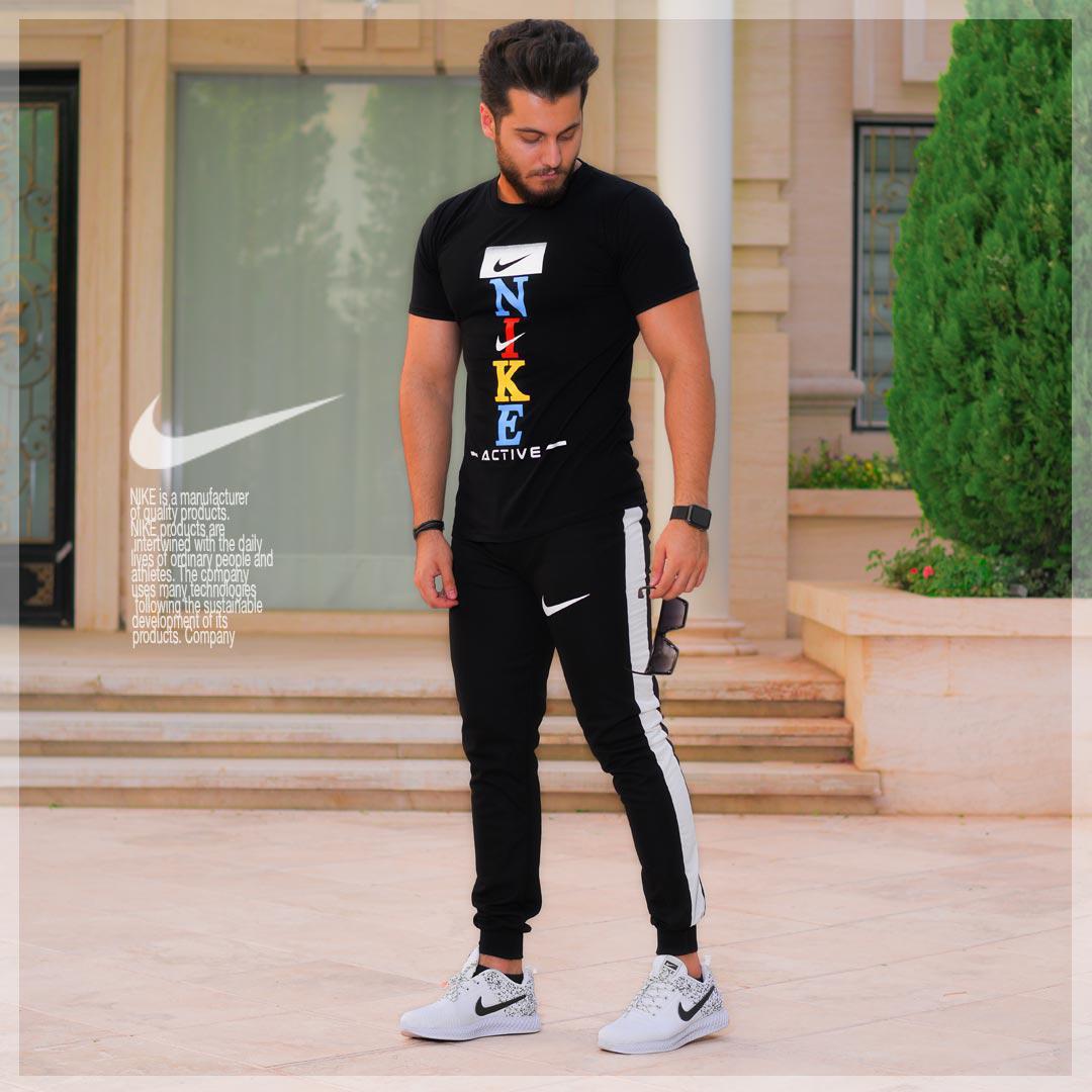 ست تیشرت و شلوار Nike مدل Penser