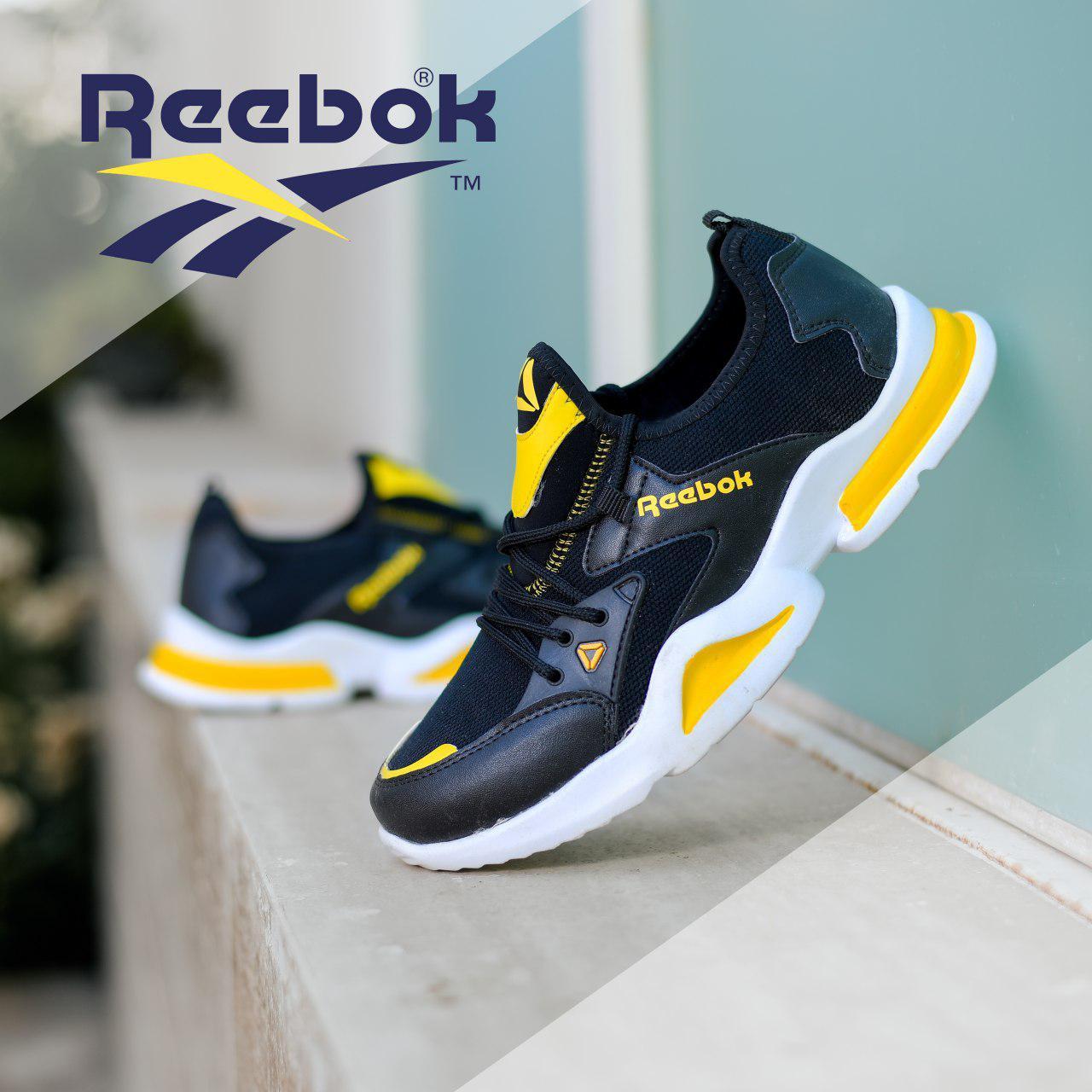 کفش مردانه Reebok مدل Rk (سفید،مشکی)