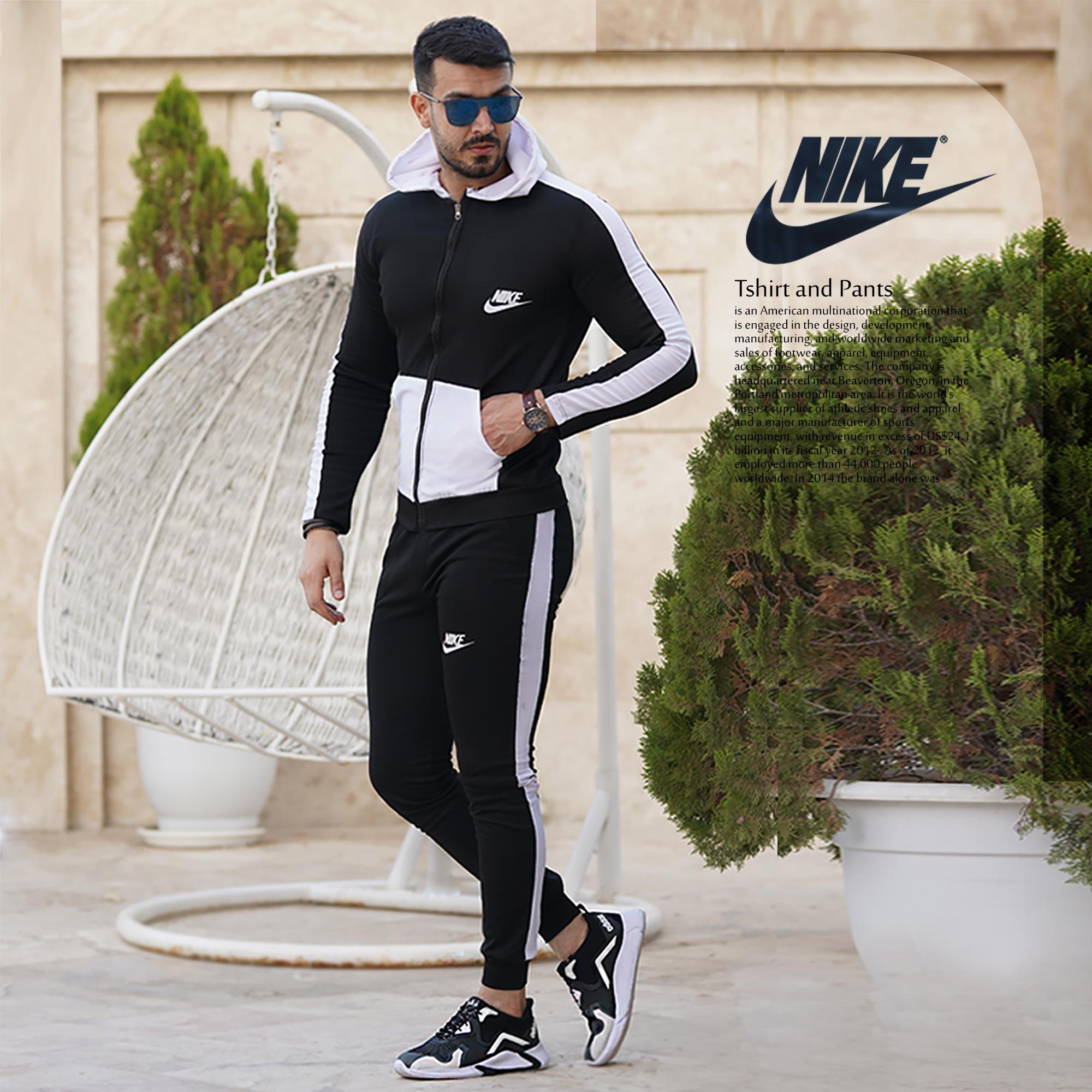 عکس محصول ست سویشرت وشلوار Nike مدل Amanda