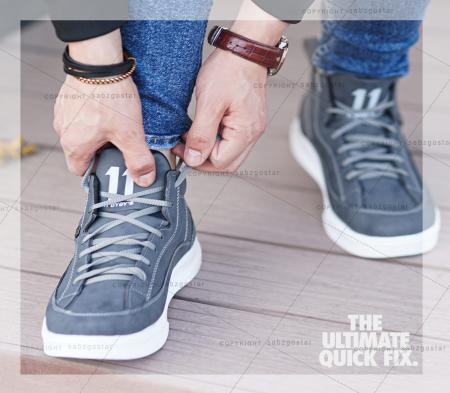کفش ساقدار مردانه مدل Felz(طوسی)