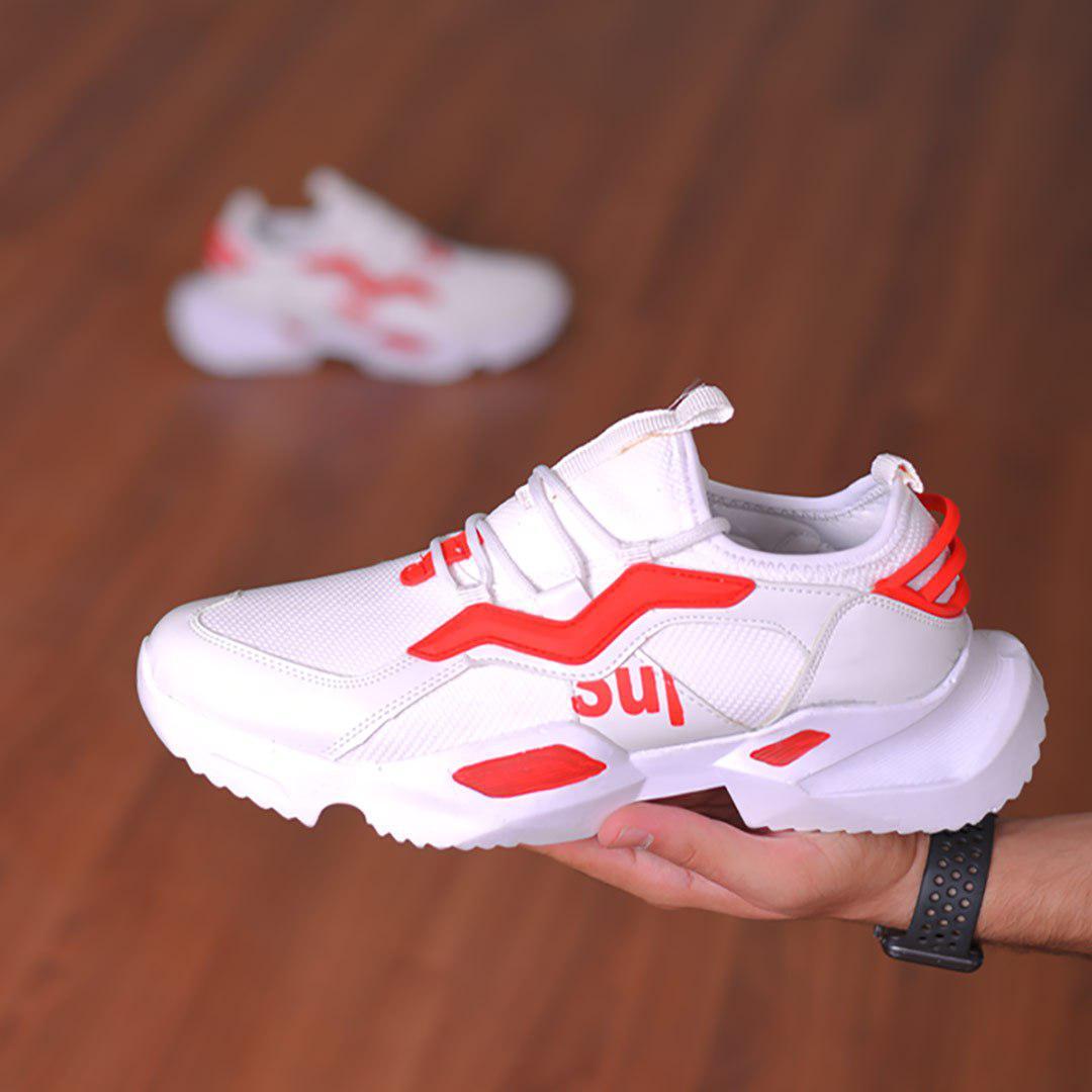 کفش مردانه مدل Alex (سفید،قرمز)
