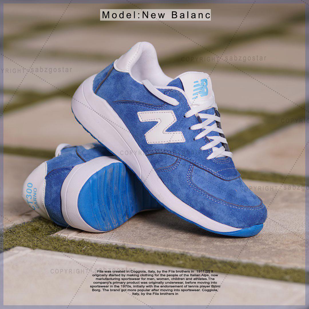کفش مردانه New Balancمدل karno(آبی)