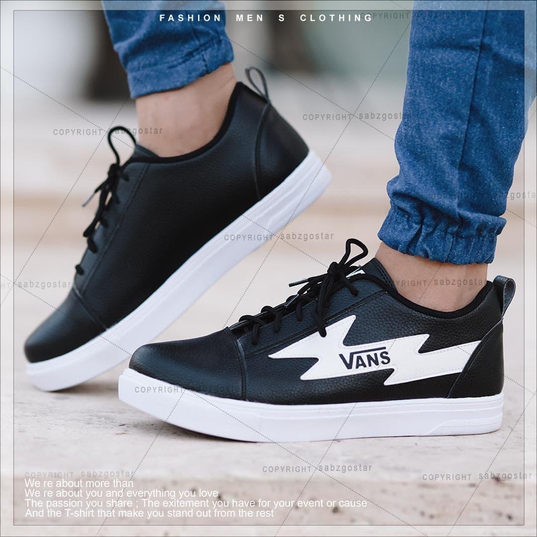 کفش مردانه Vans (مشکی سفید)