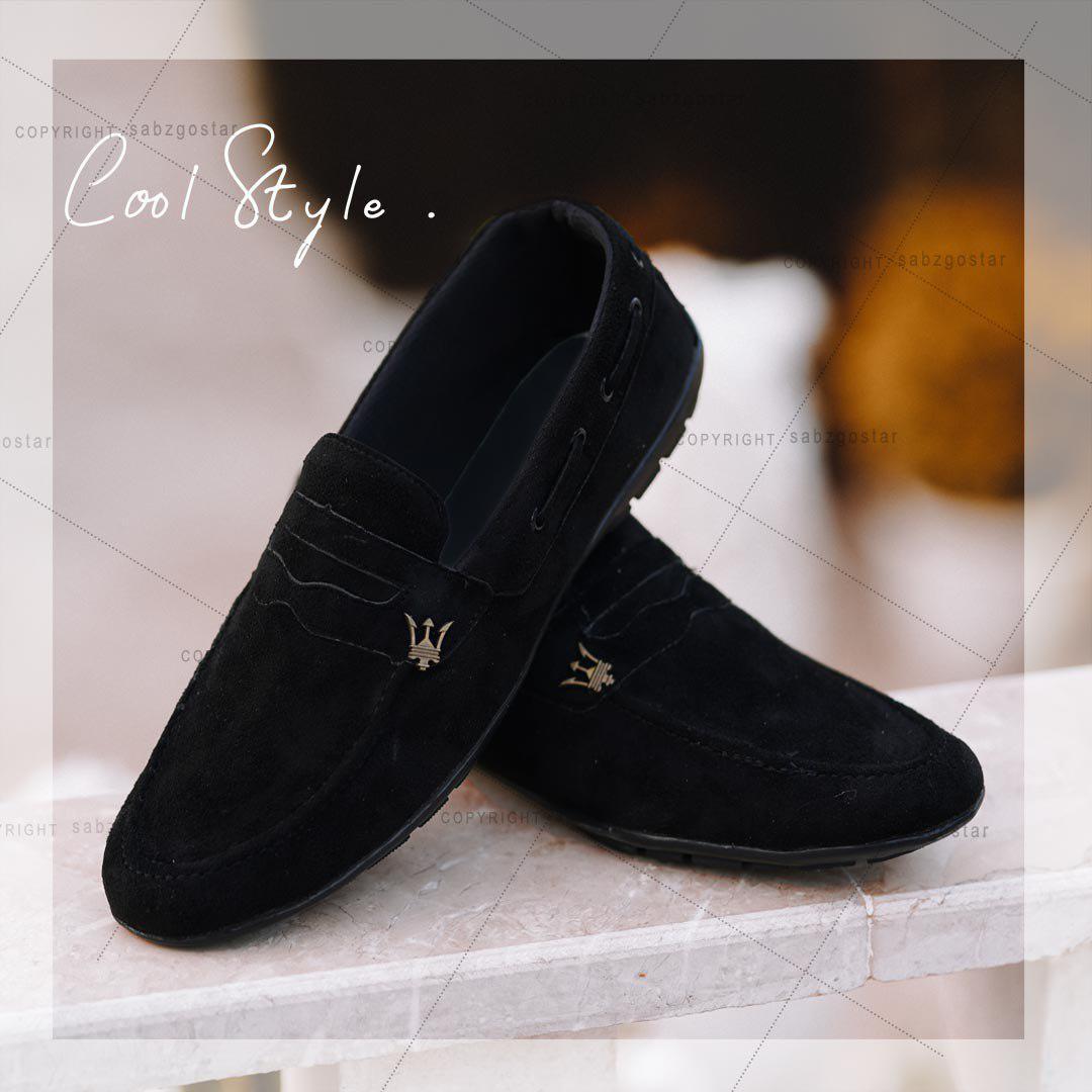 کفش کالج Maserati مدل Neba (مشکی)