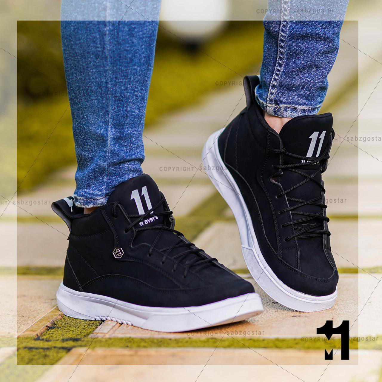 کفش ساقدار مردانه مدل Felz(مشکی)