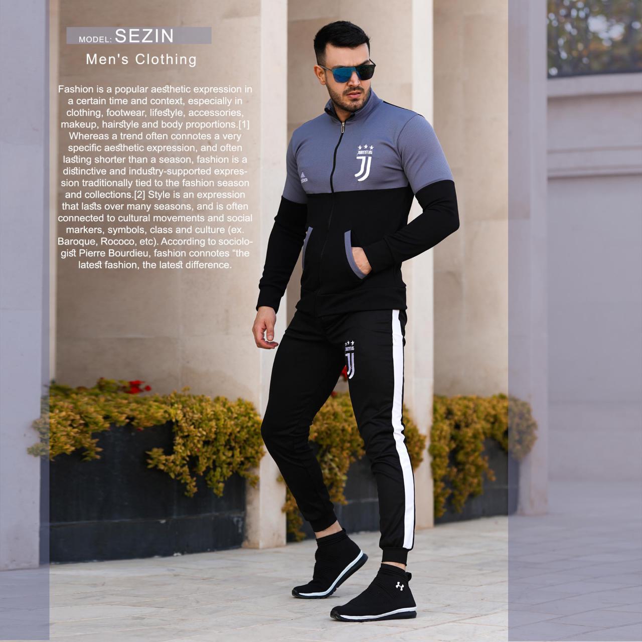ست سویشرت و شلوار مردانه مدل Sezin