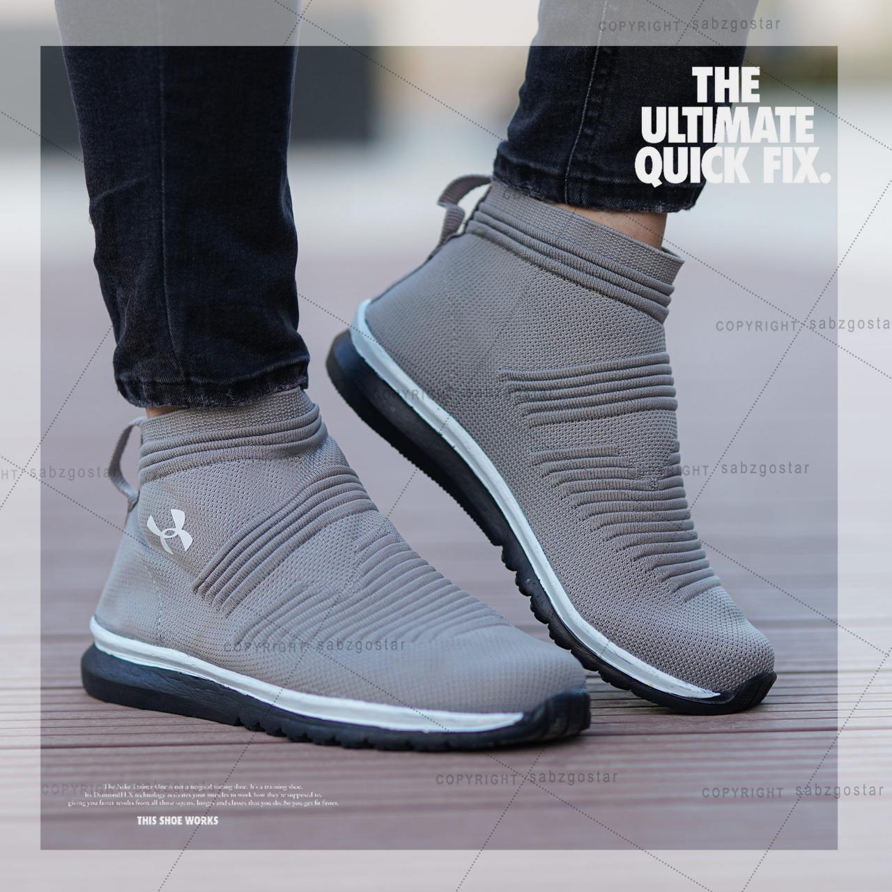 کفش مردانه ساقدار Angles(طوسی)