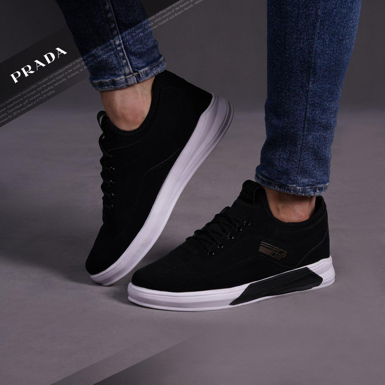 کفش مردانه PRADA مدل Zaff(مشکی)
