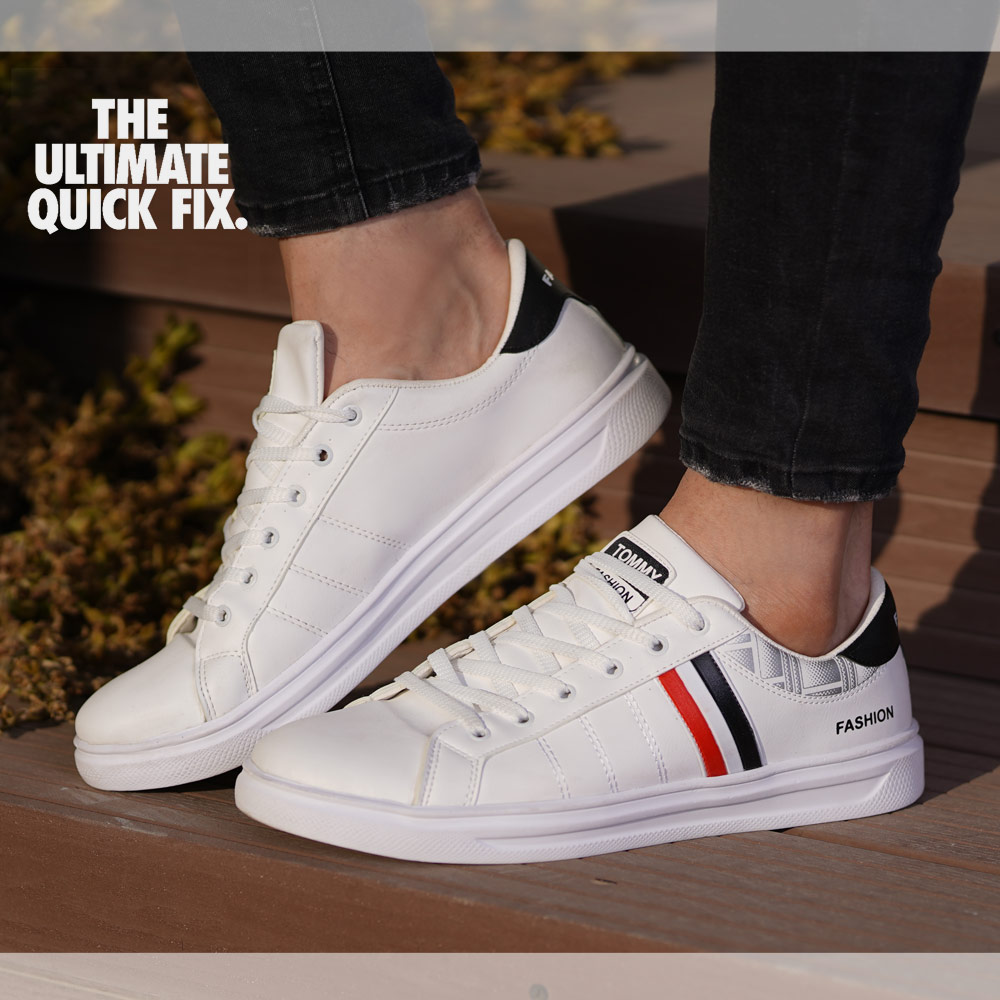 کفش مردانه tommyمدل Franc(سفید)