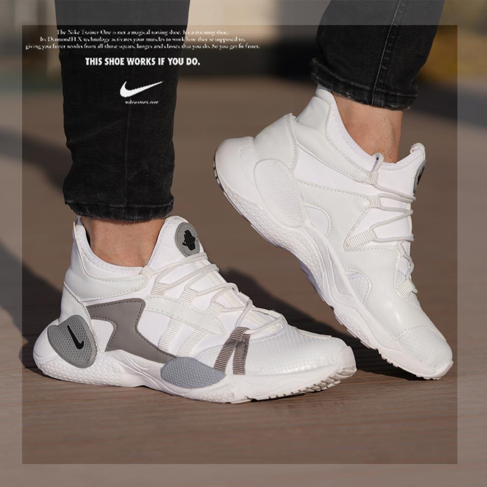 کفش مردانه Horachi Plus(سفید طوسی)