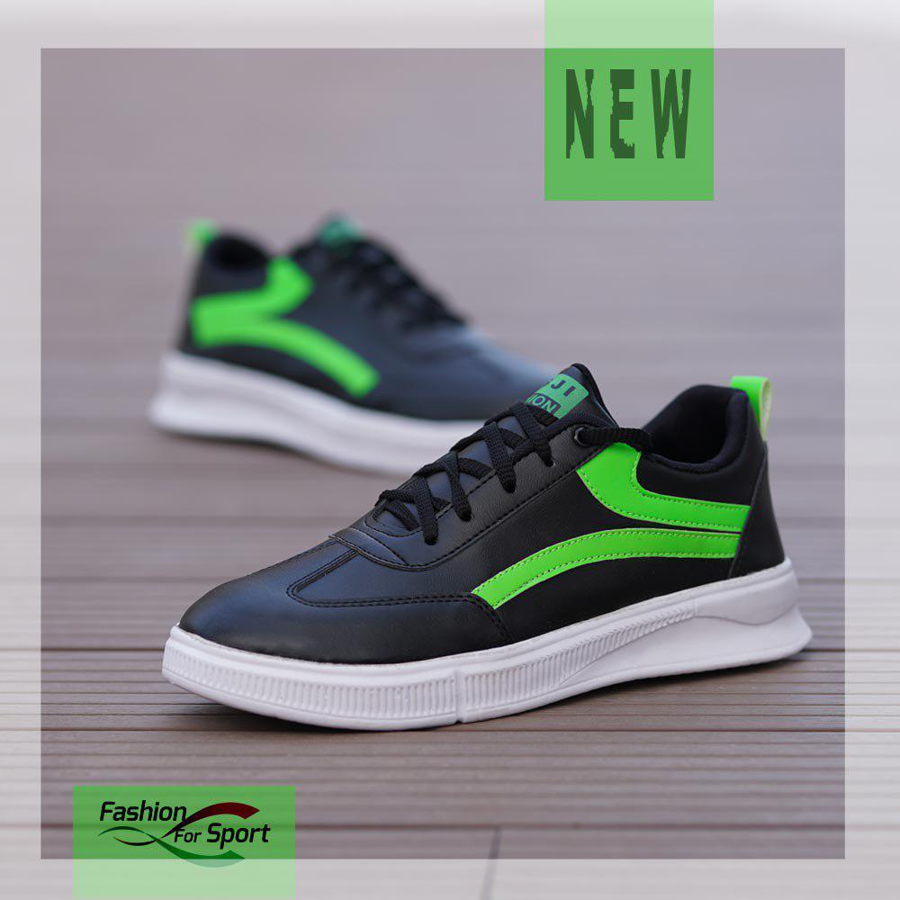 کفش مردانه VansمدلBatecs (مشکی سبز)