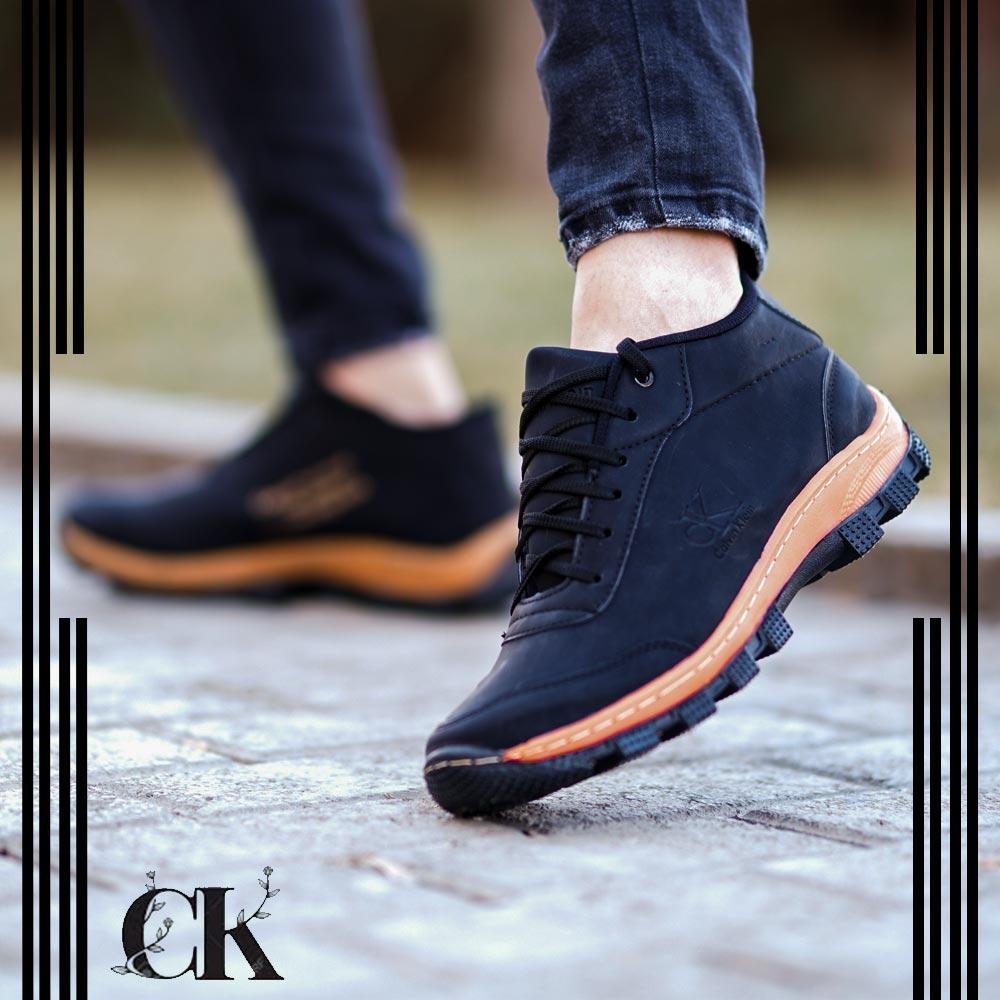 عکس محصول کفش مردانه CK مدل Norbert(مشکی)