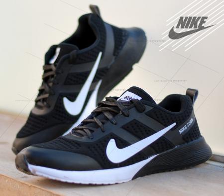 کفش مردانه Nikeمدل Bent(مشکی سفید)