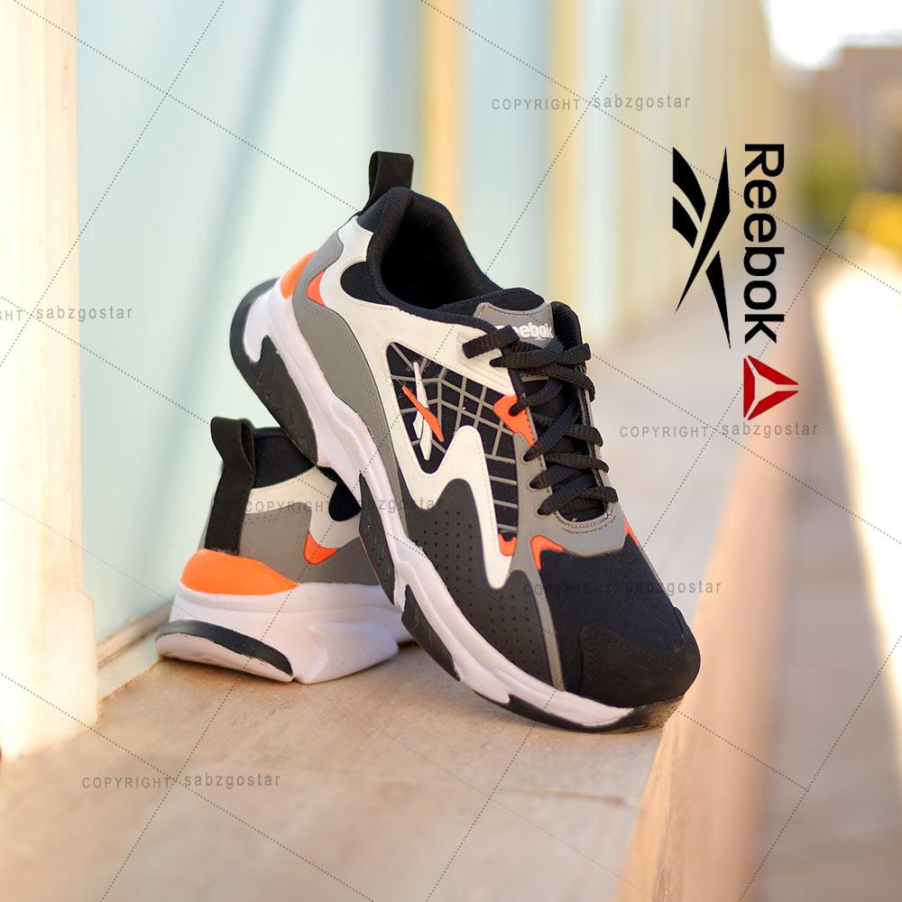 عکس محصول کفش مردانه Reebok مدلAls(مشکی نارنجی)