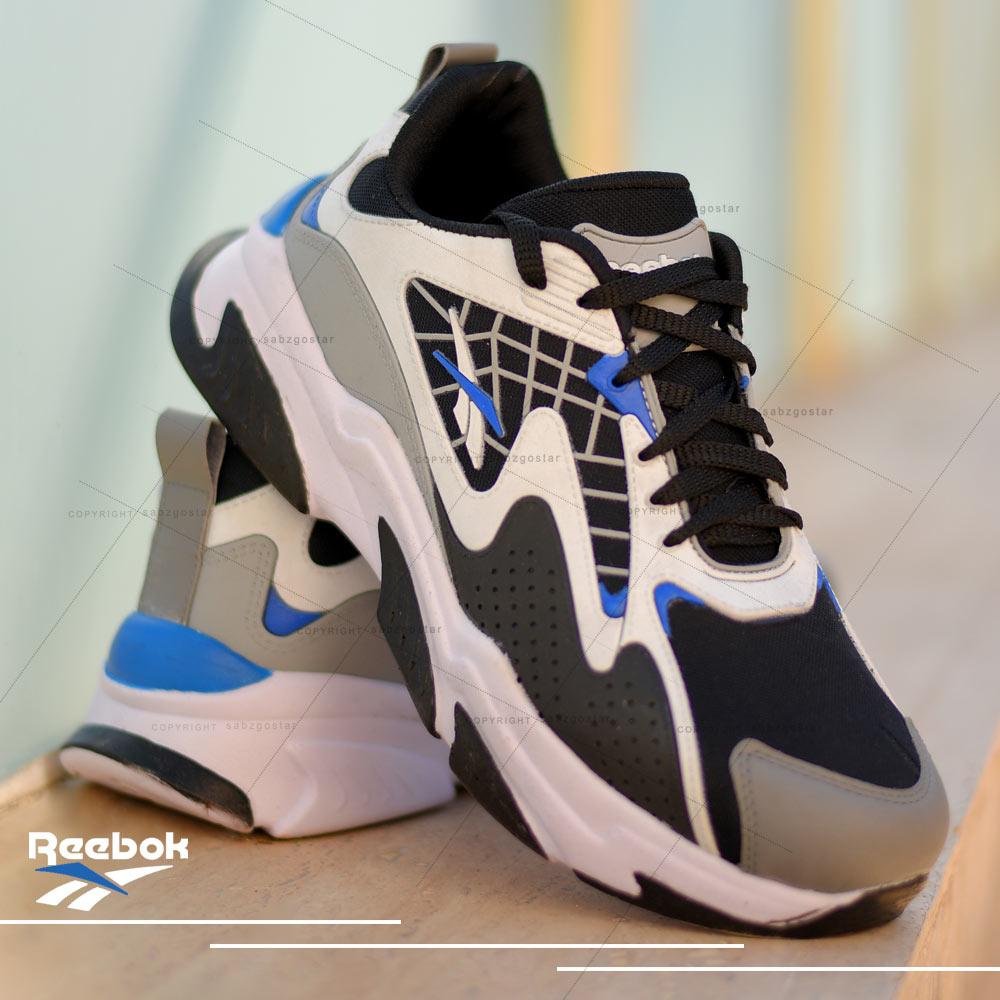 عکس محصول کفش مردانه Reebok مدلAls(مشکی آبی)