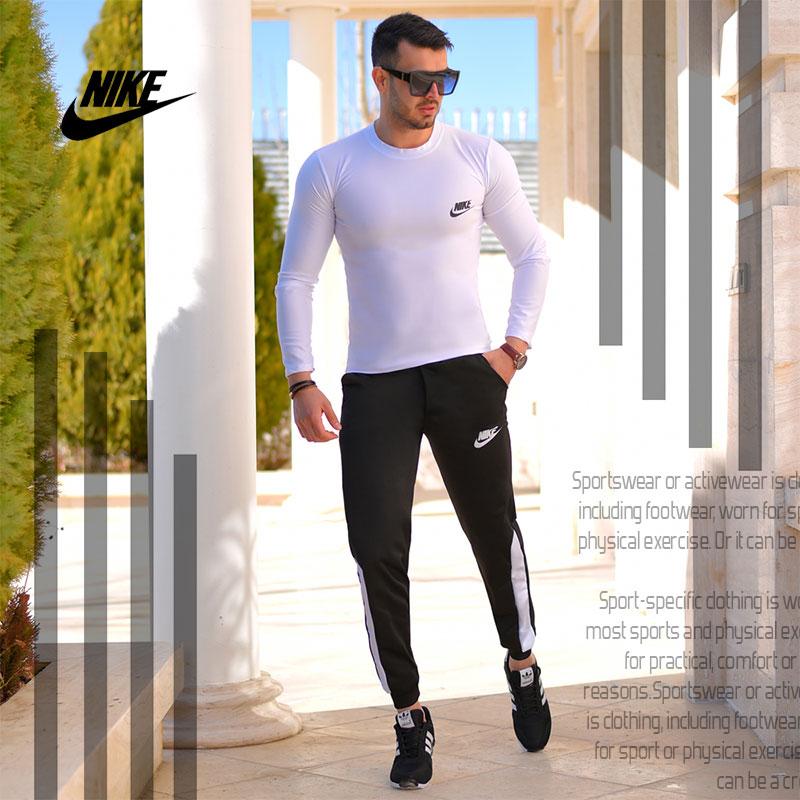 ست بلوز و شلوار Nike مدل Destiny(سفید)