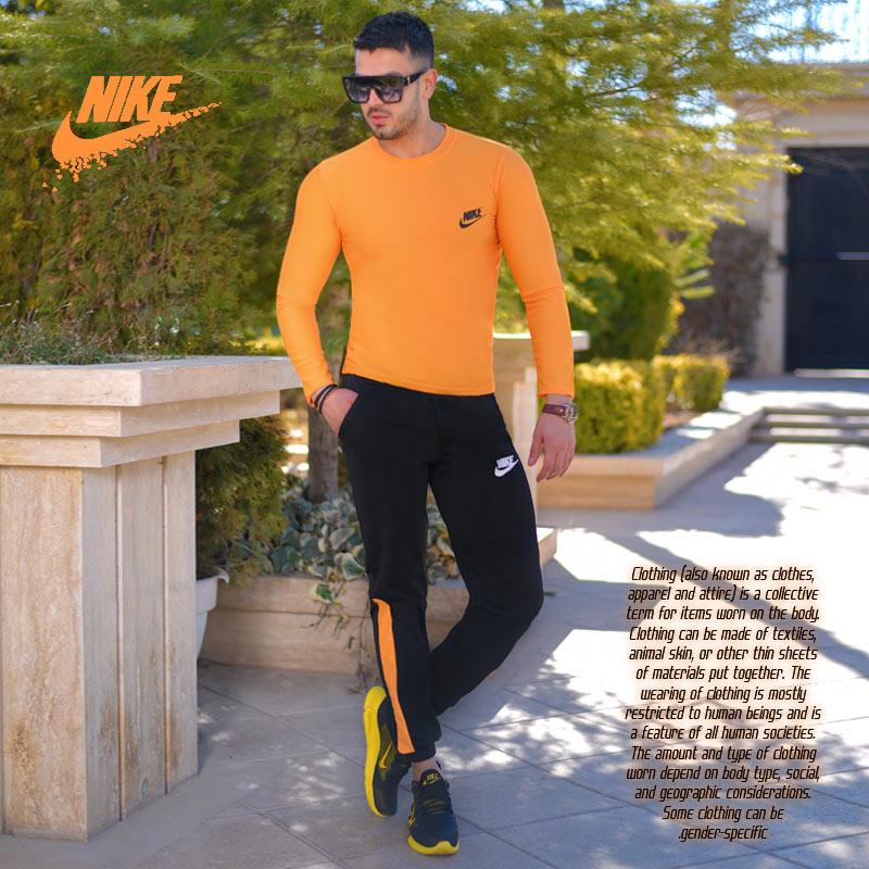 عکس محصول ست بلوز وشلوار Nike مدل Destiny(زرد)