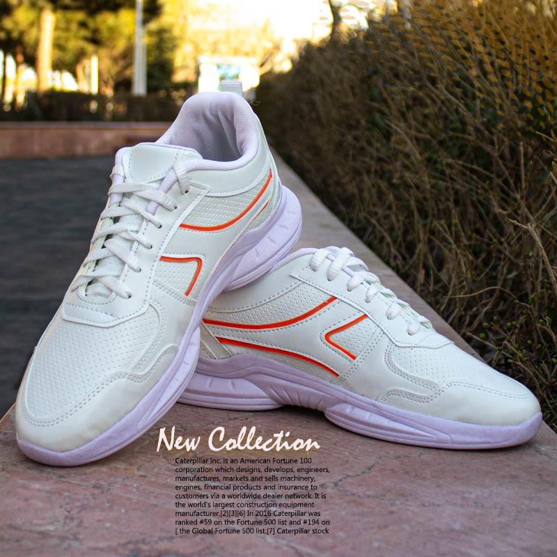 عکس محصول کفش مردانه مدل Neon (سفید نارنجی)