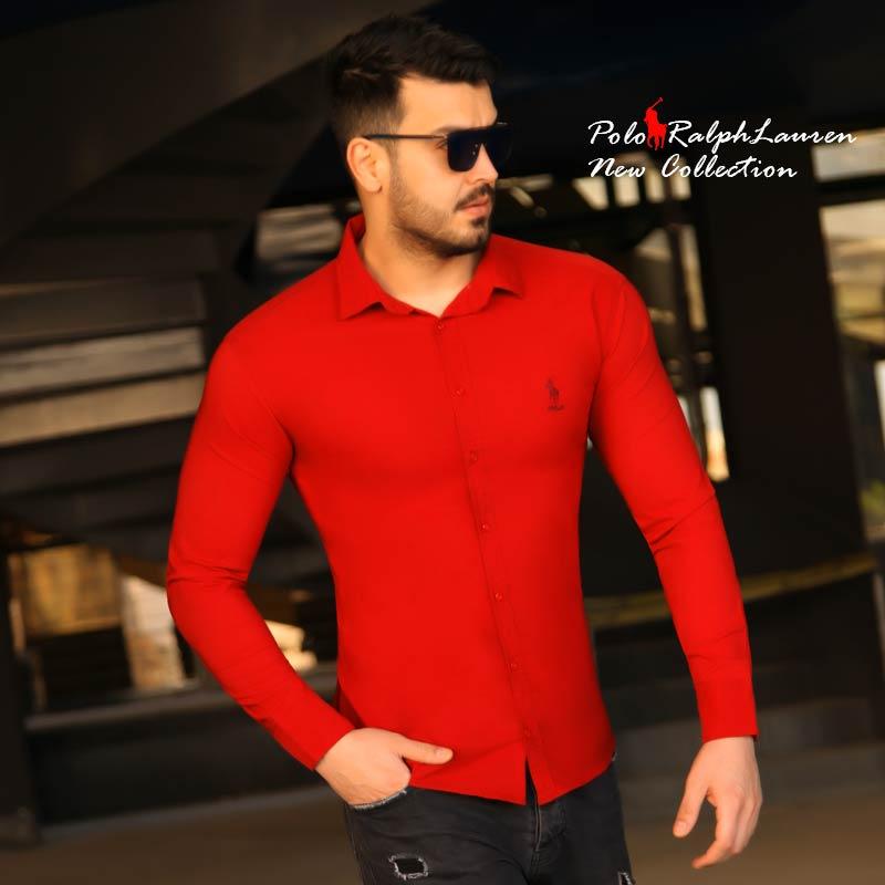 عکس محصول پیراهن مردانه Polo (قرمز)