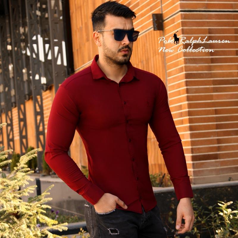 عکس محصول پیراهن مردانه Polo (زرشکی)