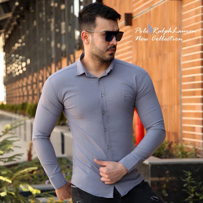 عکس محصول پیراهن مردانه Polo (طوسی)