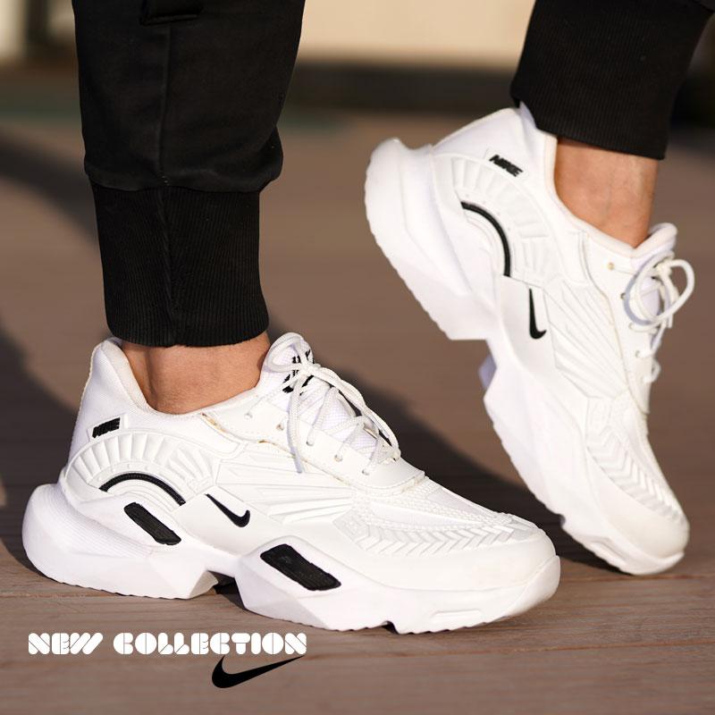 کفش مردانه galaxy (سفید مشکی )