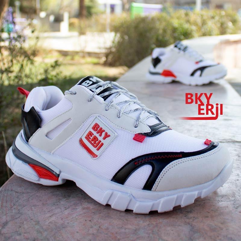 عکس محصول کفش مردانه Nike مدل Bky ( سفیدقرمز)