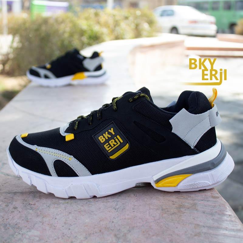 عکس محصول کفش مردانه Nike مدل Bky (مشکی زرد)
