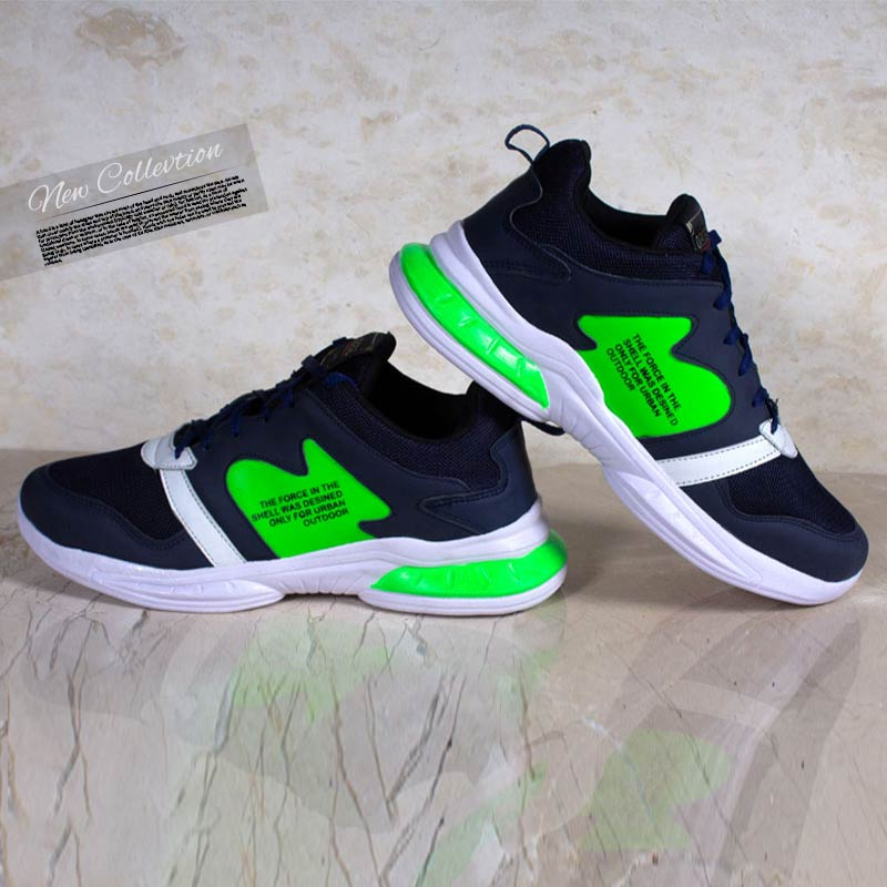 عکس محصول کفش مردانه Rise ( سورمه ای سبز)