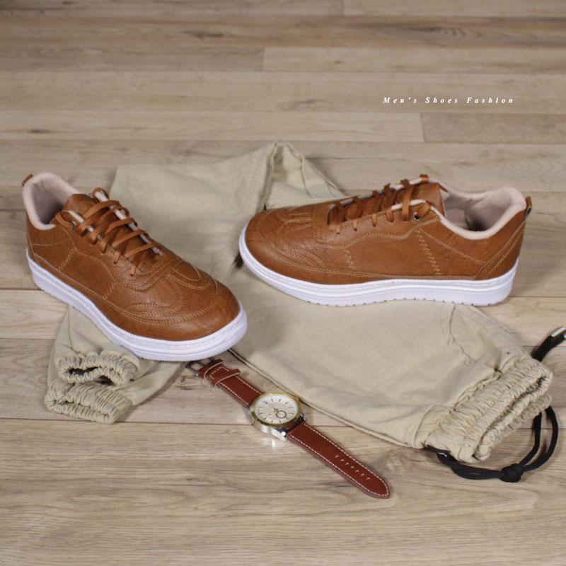 کفش مردانه مدل Shallow(عسلی)