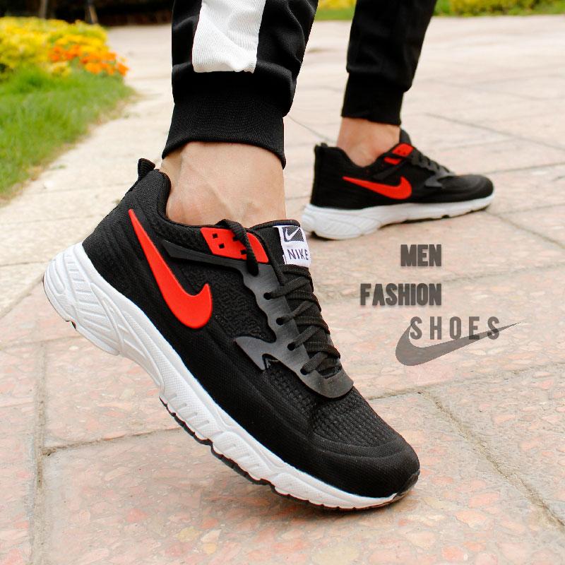 کفش مردانه Nike مدل Walid (مشکی قرمز)