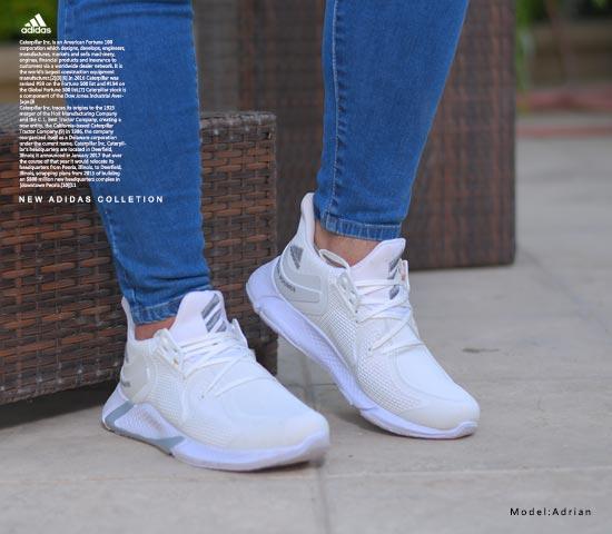 کفش مردانه AdidasمدلAdrian(سفید)