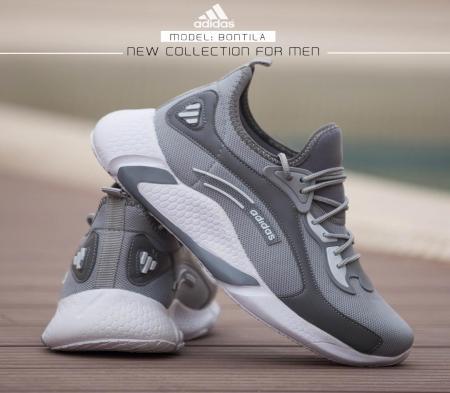 کفش مردانه  Adidas مدل Bontila( طوسی )