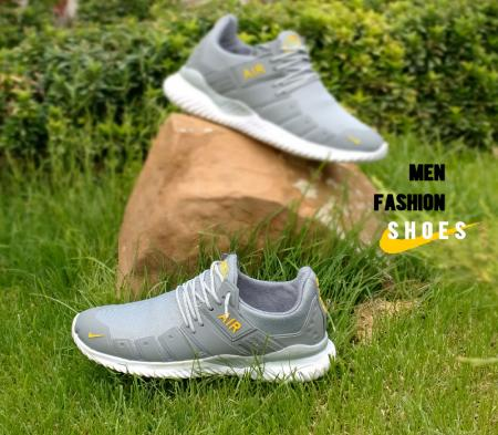 کفش مردانه Nike مدل Air 2021 (طوسی زرد)