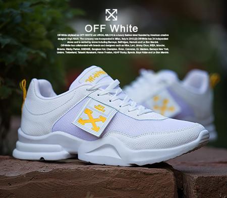 کفش مردانه مدل  Off white(سفید)