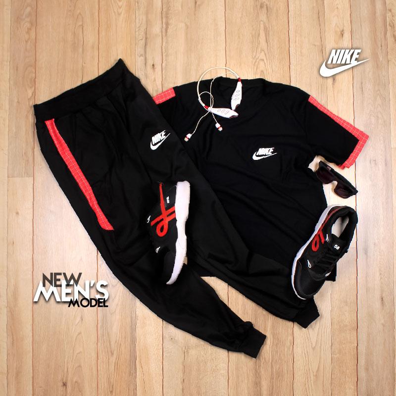 ست تیشرت شلوار Nike مدل Fennec (قرمز)