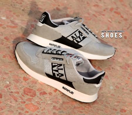 کفش مردانه مدل Adli (طوسی مشکی)