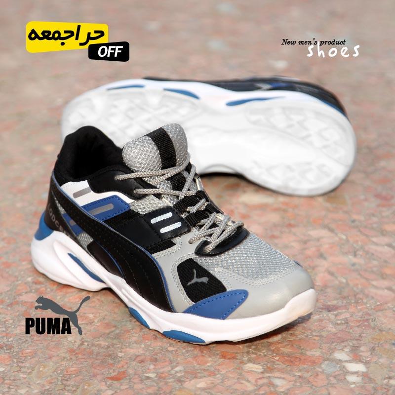 کفش مردانه Puma مدل Masis (مشکی آبی)