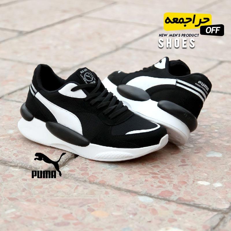 کفش مردانه Puma مدل Arvij (مشکی سفید)