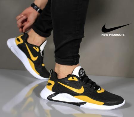 کفش مردانه Nike مدل Air270 (مشکی،زرد)