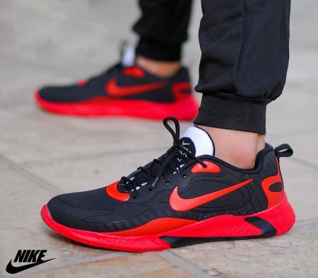 کفش مردانه Nike مدل Air270 (مشکی،قرمز)