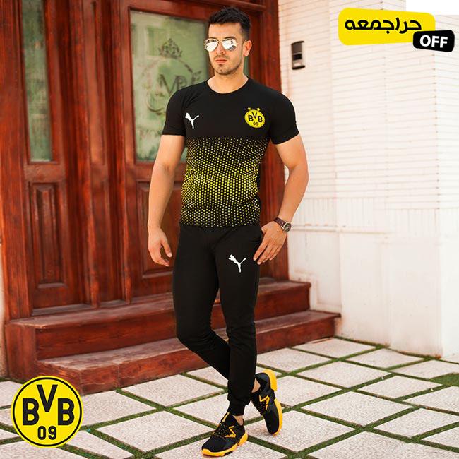 ست تیشرت وشلوار مردانه Dortmund مدل Casper