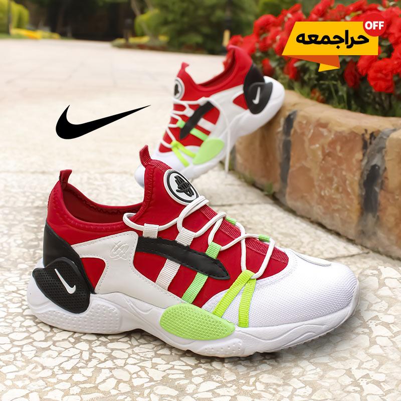 کفش مردانه Nike مدل ALPA (سفید قرمز)