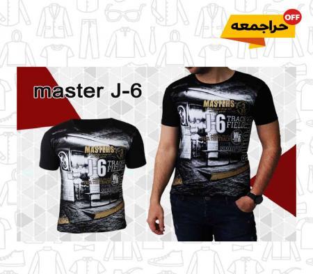 تیشرت مردانه مدل master J-6