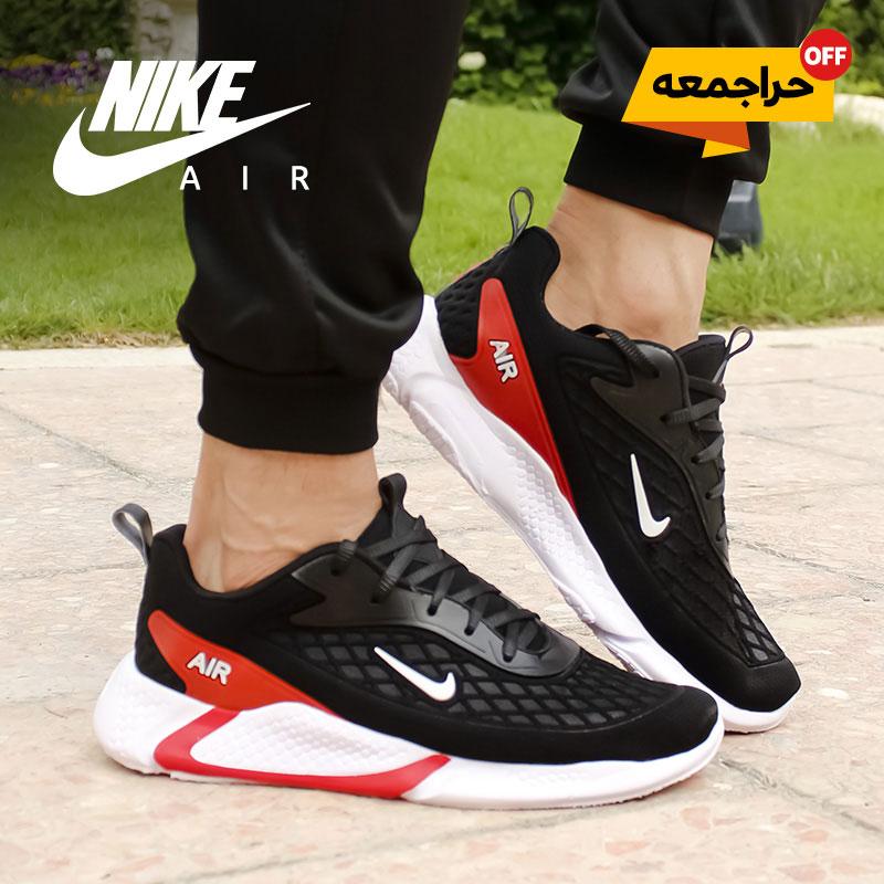 کفش مردانه Nike مدل Ruppo (مشکی قرمز)